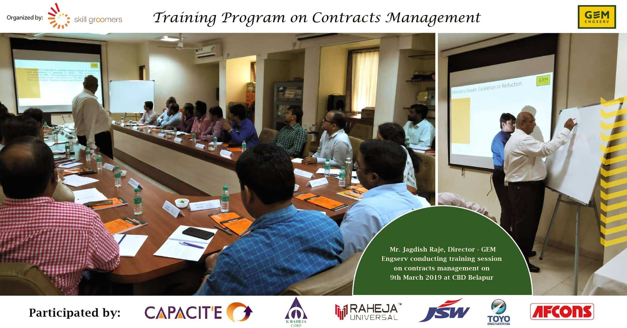 Training Program on Contracts Management