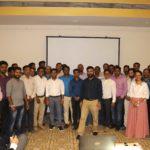 Shailesh Mirkar with PMC team