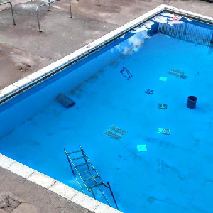 Redesigning of swimming pool