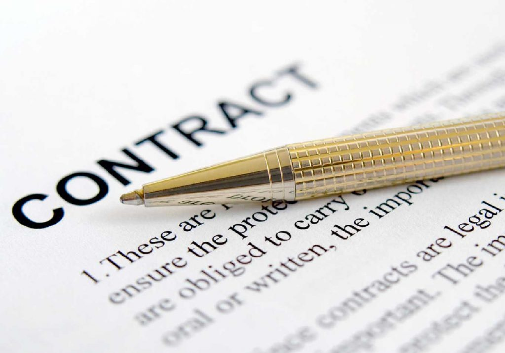 Contract Document Image
