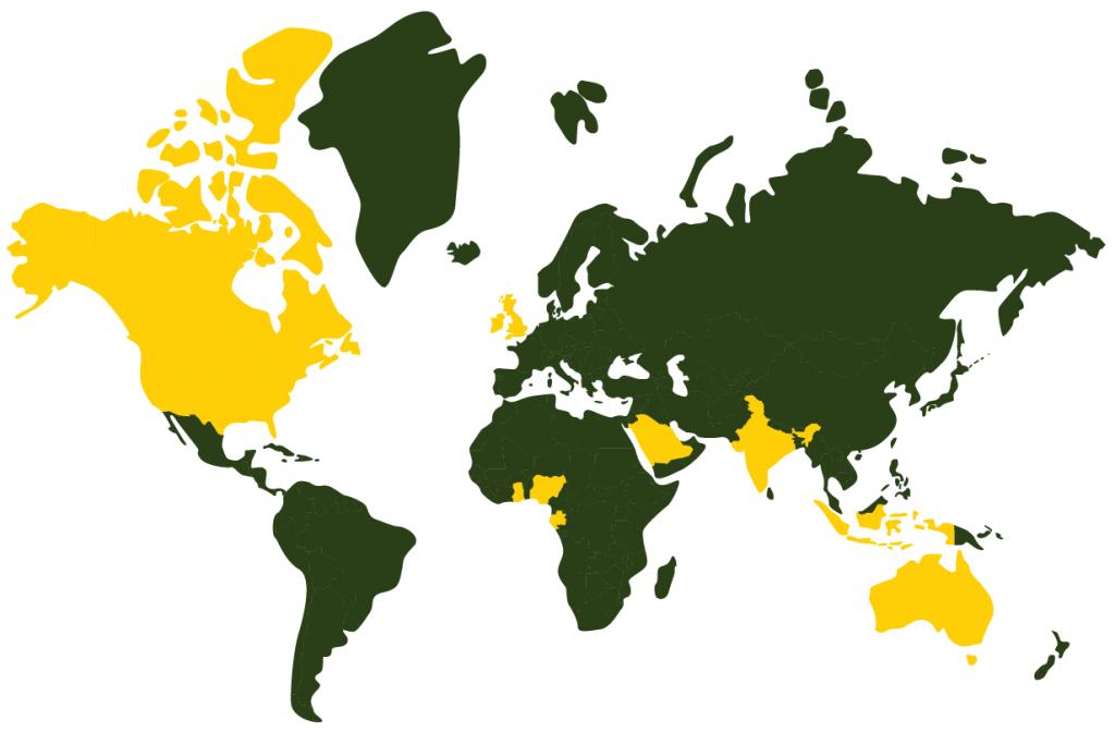 GEM Engserv Client presence Map