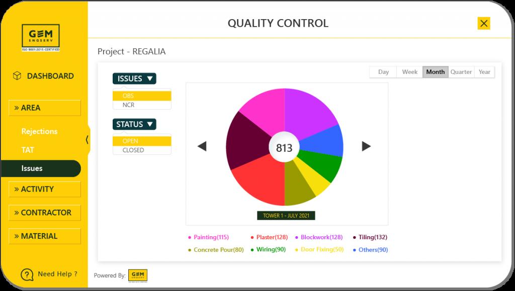 Quality App Dashboard 4
